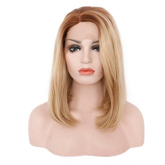 Wig Strawberry Blonde Med