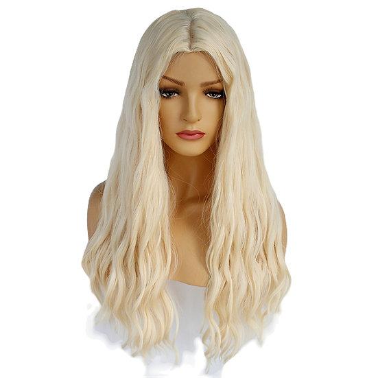 Wig Wavy Beach Blonde