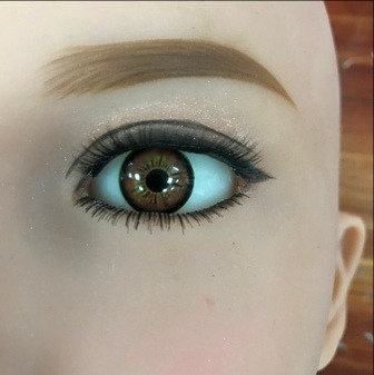 Eyes Pair - Light Brown