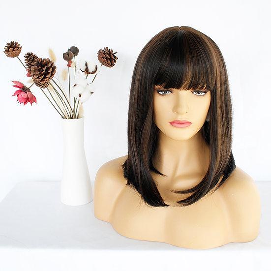 Wig Fringe Brown-Auburn