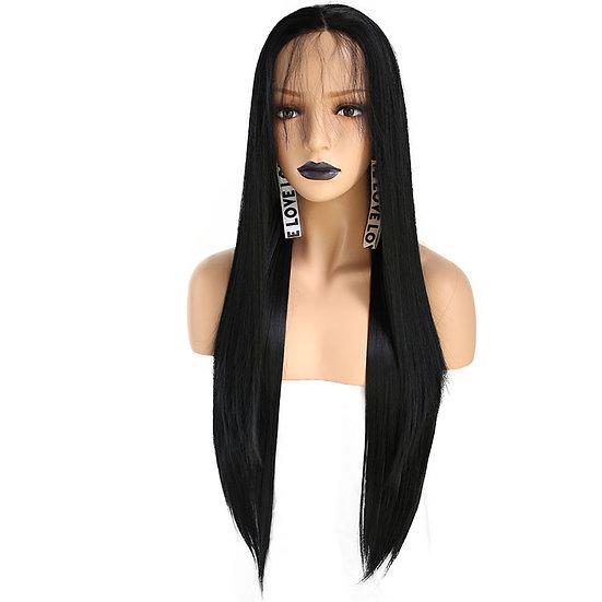 Wig Black Straight