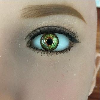 Eyes Pair - Grass Green