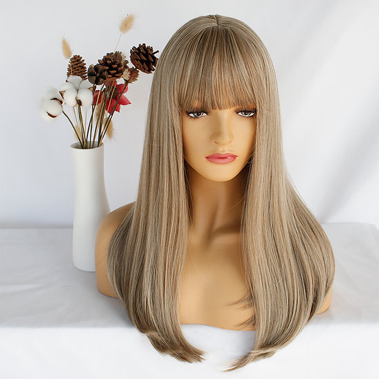 Wig Fringe Strawberry Blonde