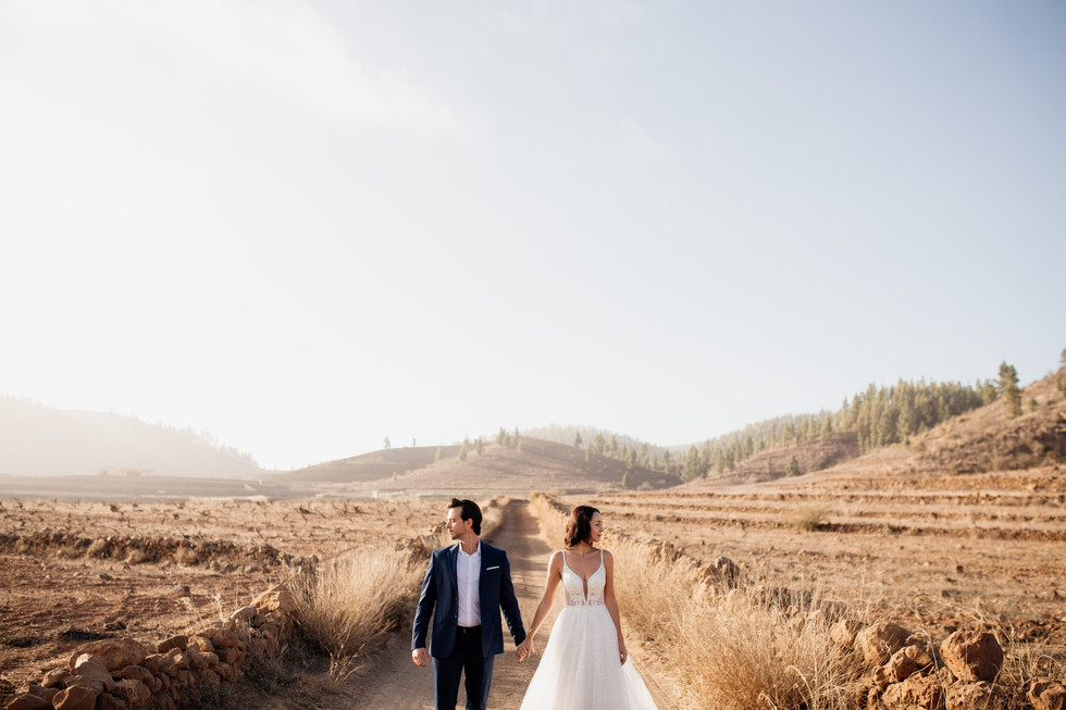 post wedding photography in tenerife by