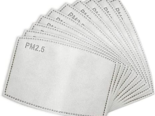 20 Pack Mask 5 Layer Filters