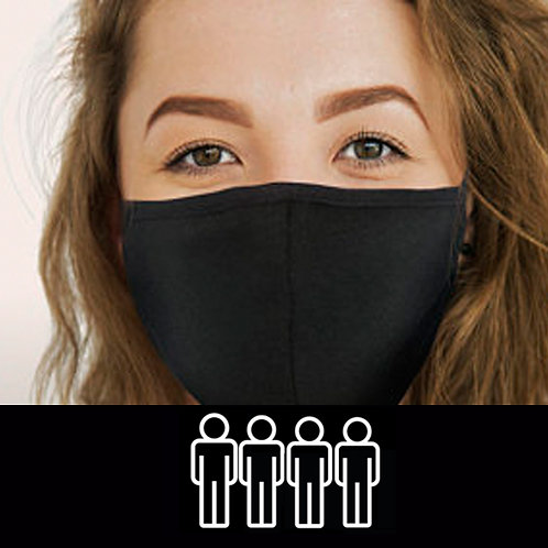 4 Pack Face Mask