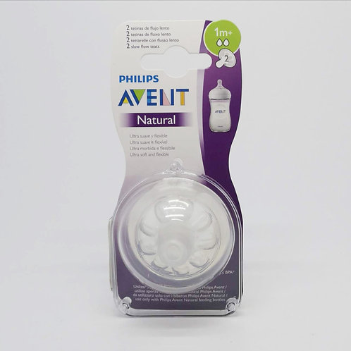 AVENT Set De Tetinas Natural 1M+