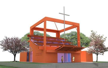 Santa Cruz Church 1996-1997