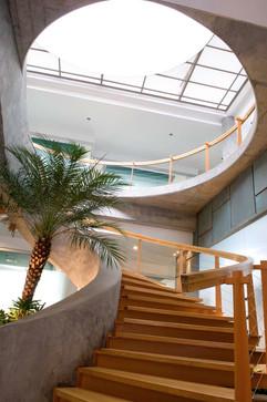 8.Vista de la escalera principal - Foto