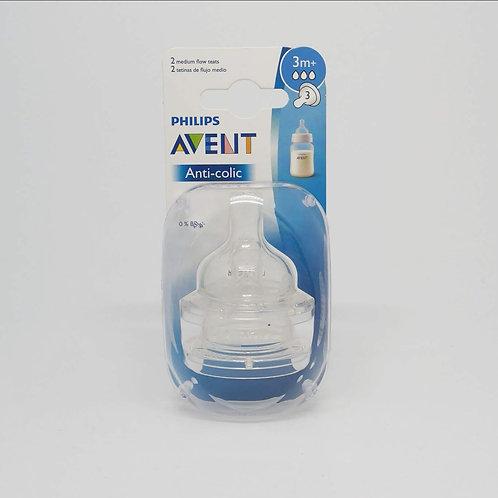 AVENT Repuesto Anti-colic 3M+ Flujo Medio
