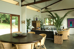 2.View of the dining and living room - P