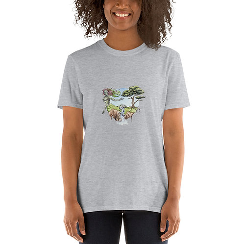 Short-Sleeve Unisex T-Shirt - Life and Death