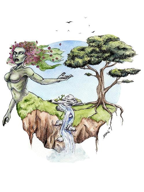 Mother Nature - PRINT