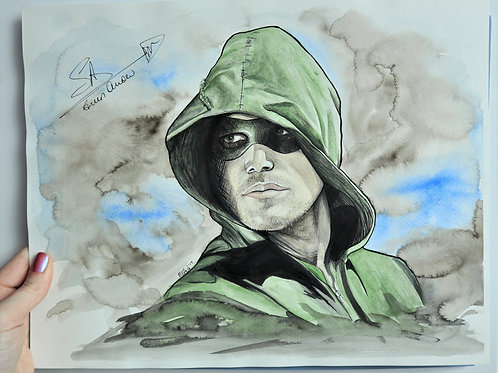 The Hood - ORIGINAL (Stephen Amell Signature)