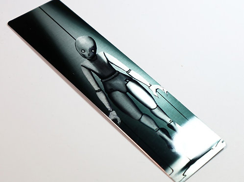The Marionette - METAL BOOKMARK
