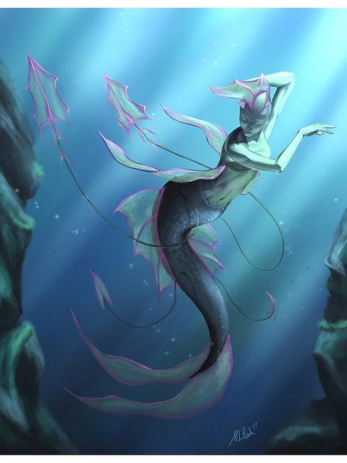 The Siren - Print