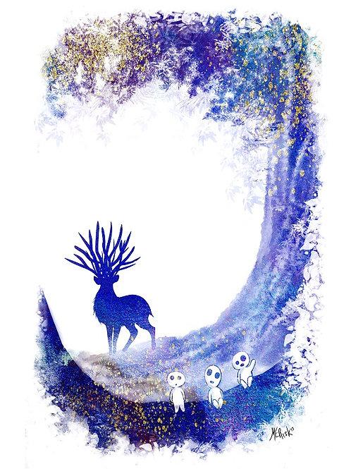 Forest God - Print