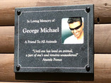 GM memorial Plaque/Swan Lifeline