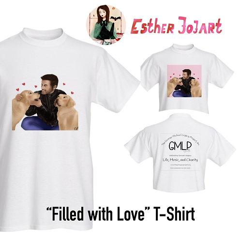 """Filled With Love"" Theme T-Shirt"