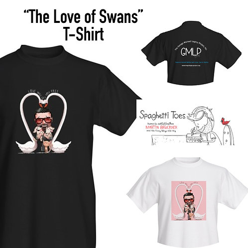 """The Love of Swans"" T-Shirt"
