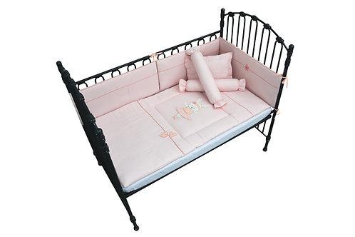 Crib Set (7 piece) - Ballerina Bunny Collection