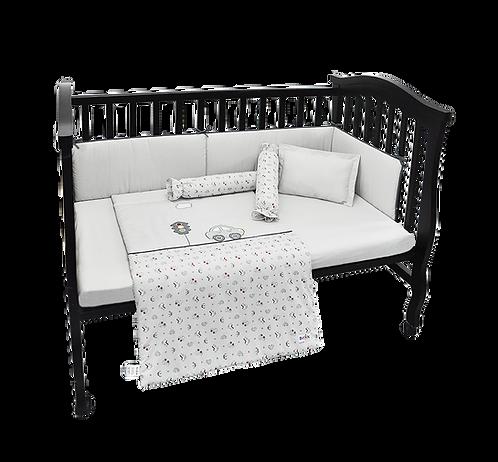 Crib Set (6 piece) - Traffic Collection