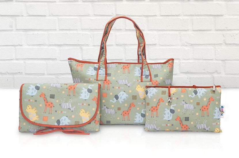 Shoppers Bag - Safari Design