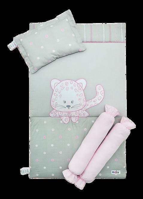 Bed Set (4 piece) - Leopard Collection