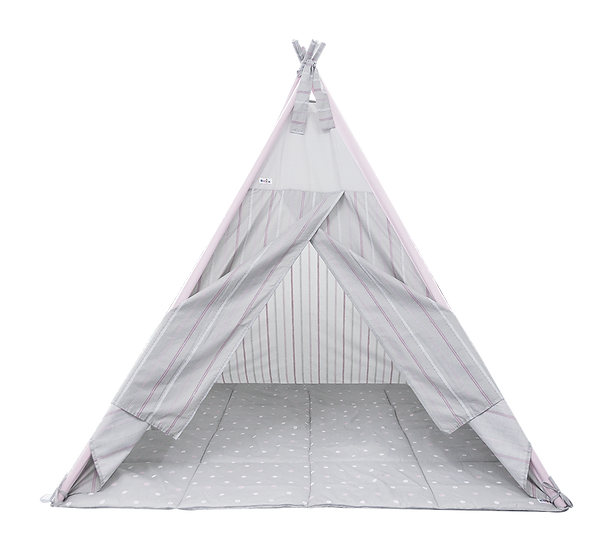 Teepee Set (large) - Leopard Collection