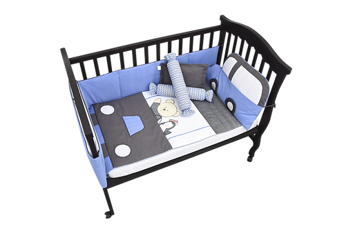 Crib Set (7 piece) - Little Driver Collection