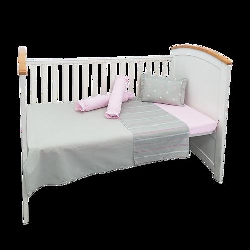 Crib Set (5 piece) - Leopard Collection