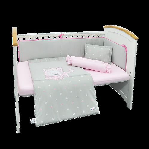Crib Set (6 piece) - Leopard Collection