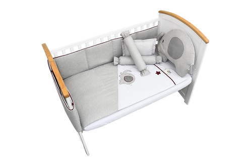 Crib Set (7 piece) - Flappy Friends Collection