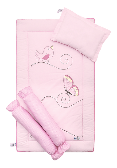 Bed Set (4 piece) - Butterfly Collection