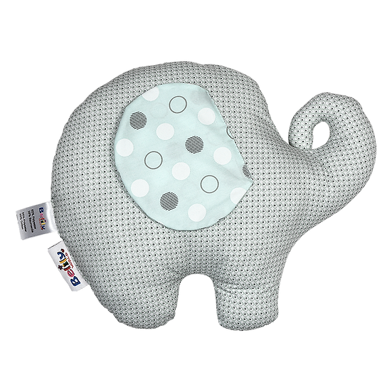 Elephant Shaped Pillow- Circus Collection