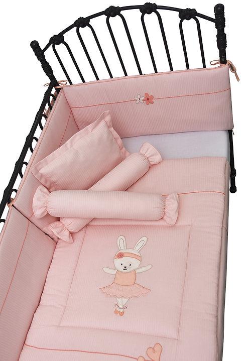 Crib Set (6 piece) - Ballerina Bunny Collection