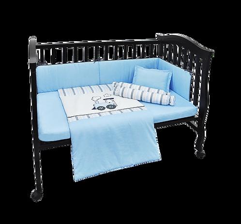 Crib Set (6 piece) - Train Collection