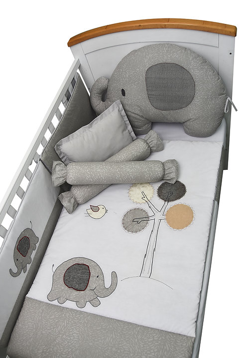 Crib Set (6 piece) - Flappy Friends Collection