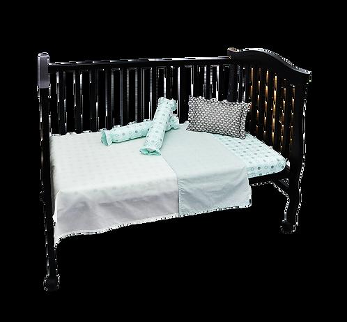 Crib Set (5 piece) - Circus Collection