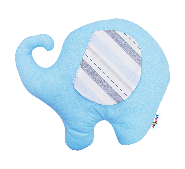 Elephant Shaped Pillow - Train Collection