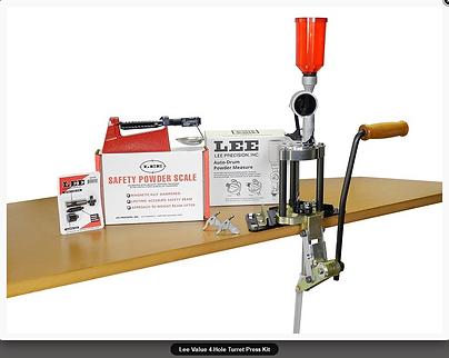 Lee Value 4-Hole Turret Press Kit Kit