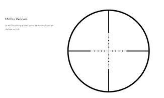 Mil Dot Classique 14123
