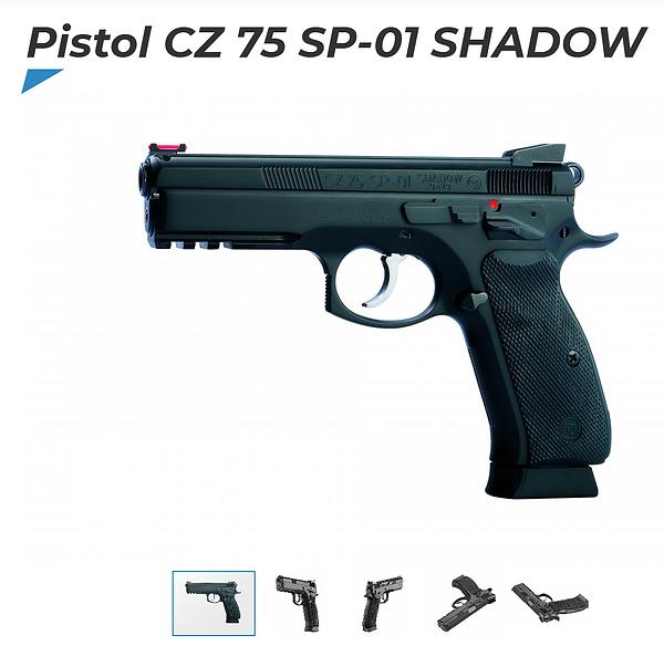 CZ 75 SP01 Shadow