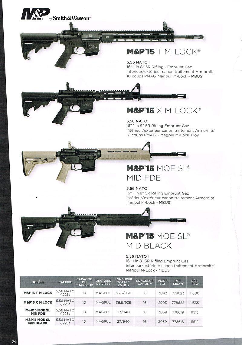 S&W M&P 15