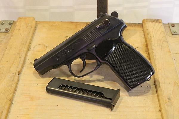 Pistolet Makarov 9 x18