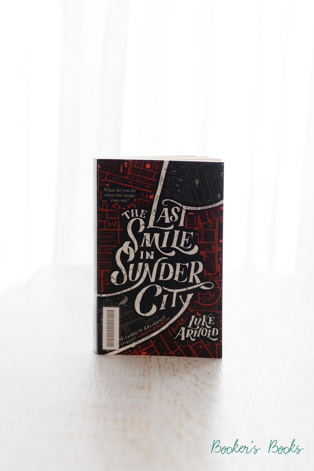 the last smile in sunder city luke arnold book review bookers books