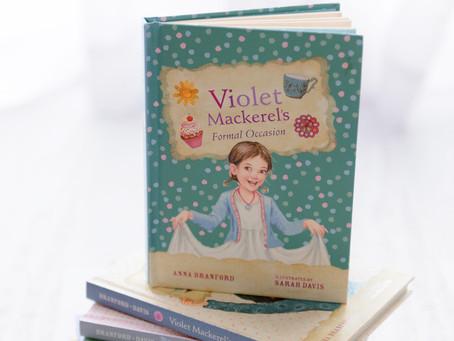 Violet Mackerel's Series by Anna Branford
