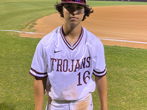ALL-AROUND DOMINANCE: Balanced hitting, Creel's pitching propel No. 2 Troy to 12-0 romp over Whitney