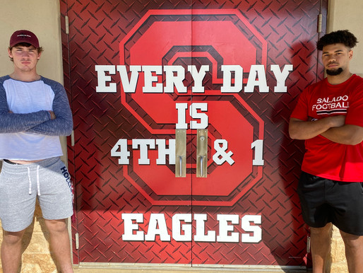 SALADO STRONG: After taking district title, hard-working Eagles charge into playoff rematch vs. Rusk