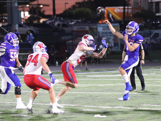 ROUGH OPENING NIGHT: Mistakes hinder Temple as QB Klubnik, top-ranked Westlake roll to 54-13 victory